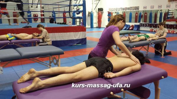 Спортивный массаж восстанавливающий